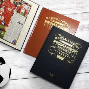 Personalised Football Book - For Your Team-OurPersonalisedGifts.com