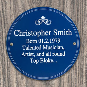 Personalised Heritage Plaque-OurPersonalisedGifts.com