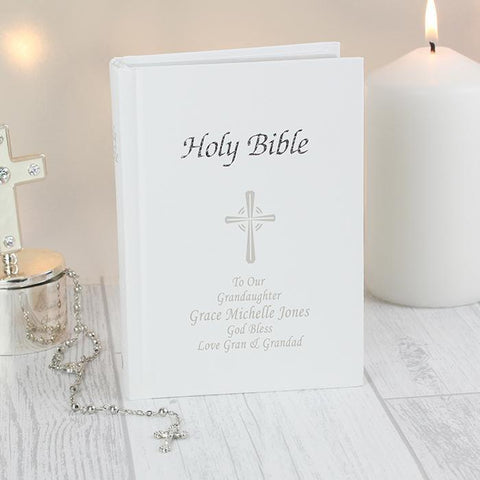 Personalised Holy Bible-OurPersonalisedGifts.com