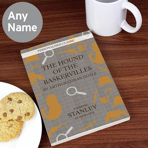 Personalised Hound of the Baskervilles Novel-OurPersonalisedGifts.com