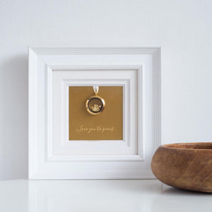 Personalised I Love You To Pieces Frame-OurPersonalisedGifts.com