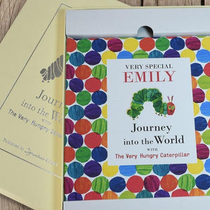 Personalised Journey With The Very Hungry Caterpillar Book-OurPersonalisedGifts.com