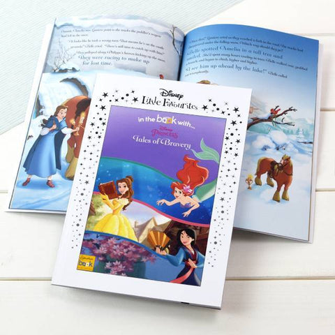Personalised Little Favourites Disney Princesses Tales of Bravery-OurPersonalisedGifts.com