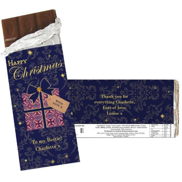 Personalised Luxury Present Chocolate Bar-OurPersonalisedGifts.com