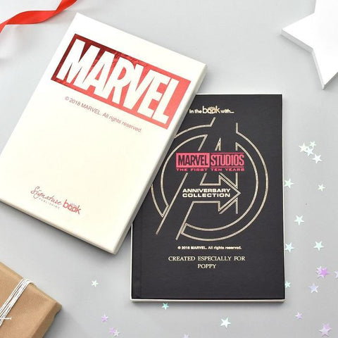 Personalised Marvel 10 Year Anniversary Collection Standard Book-OurPersonalisedGifts.com