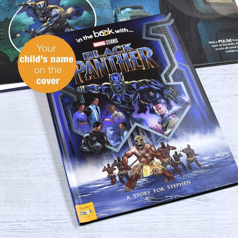 Personalised Marvel's Black Panther Story Book-OurPersonalisedGifts.com