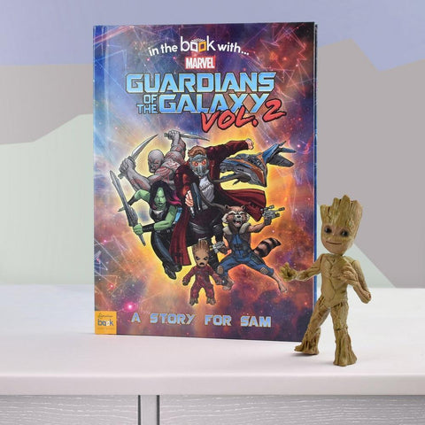 Personalised Marvel's Guardians of the Galaxy 2 Book-OurPersonalisedGifts.com