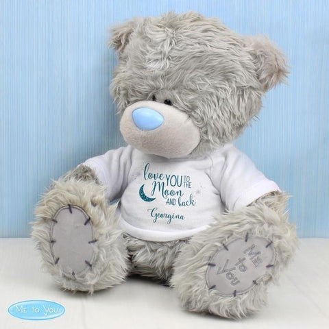 Personalised Me to You Bear with To the Moon and Back T-Shirt-OurPersonalisedGifts.com