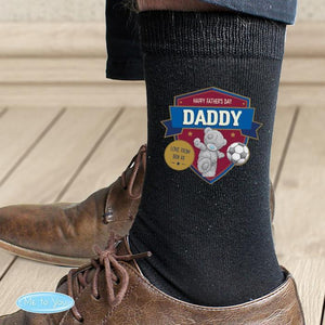 Personalised Me to You Football Men's Socks-OurPersonalisedGifts.com