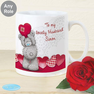 Personalised Me To You Heart Mug-OurPersonalisedGifts.com