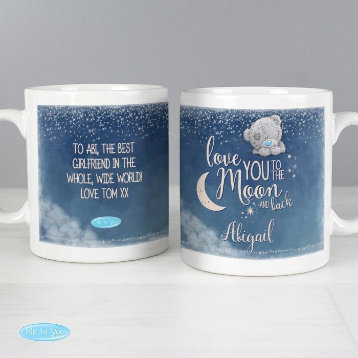 Personalised Me to You Love You to the Moon and Back Mug-OurPersonalisedGifts.com