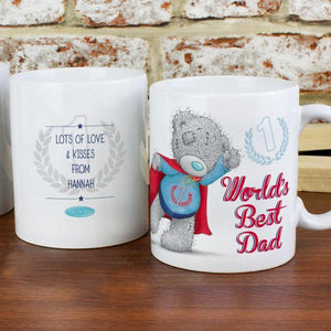 Personalised Me To You Super Dad Mug-OurPersonalisedGifts.com