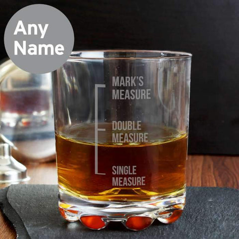 Personalised Measures Tumbler-OurPersonalisedGifts.com