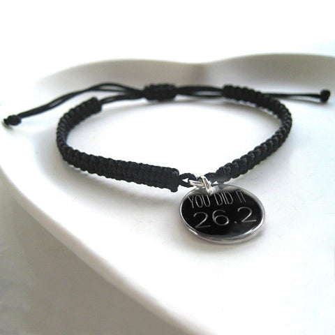 Personalised Men's Franklin Braided Bracelet-OurPersonalisedGifts.com