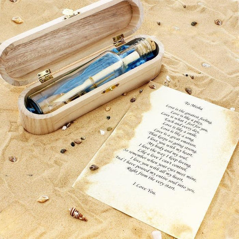 Personalised Message in a Bottle-OurPersonalisedGifts.com