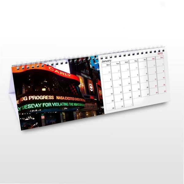 Personalised New York Calendar-OurPersonalisedGifts.com