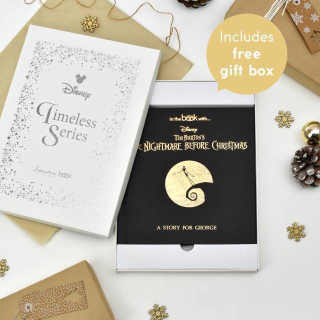 Personalised Nightmare Before Christmas Story Book-OurPersonalisedGifts.com