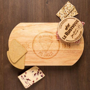 Personalised Original Big Cheese Cheeseboard Set-OurPersonalisedGifts.com