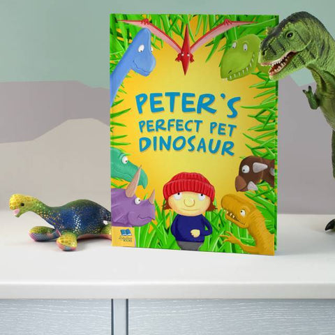 Personalised Perfect Pet Dinosaur Book-OurPersonalisedGifts.com