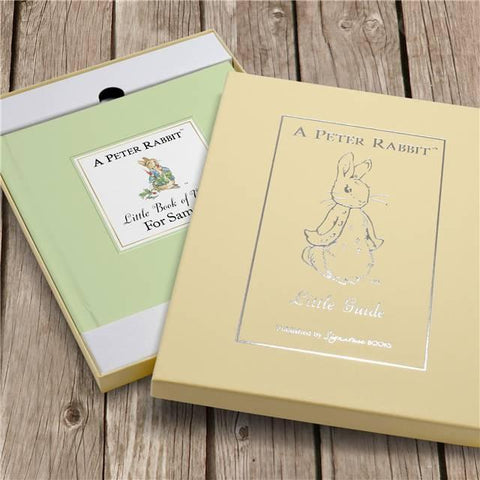 Personalised Peter Rabbit's Little Book of Virtue-OurPersonalisedGifts.com