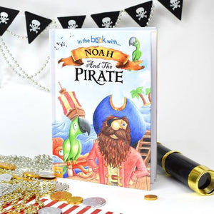 Personalised Pirate Story Book-OurPersonalisedGifts.com