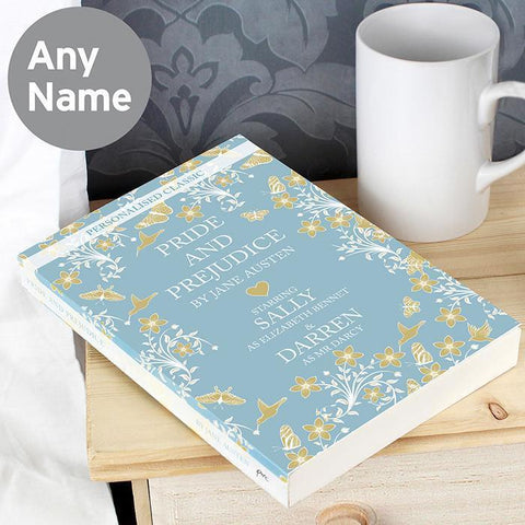 Personalised Pride and Prejudice Novel-OurPersonalisedGifts.com