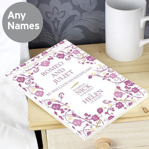 Personalised Romeo and Juliet Novel-OurPersonalisedGifts.com