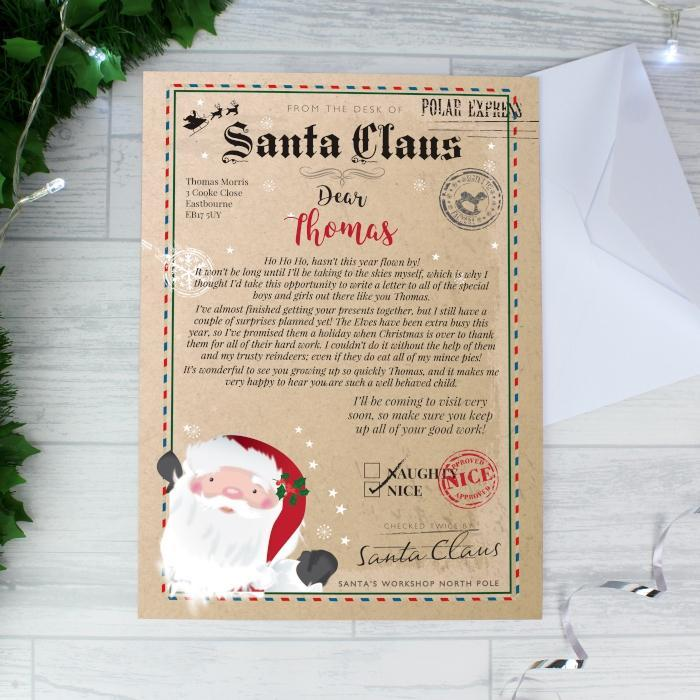 Personalised Santa Claus Letter-OurPersonalisedGifts.com