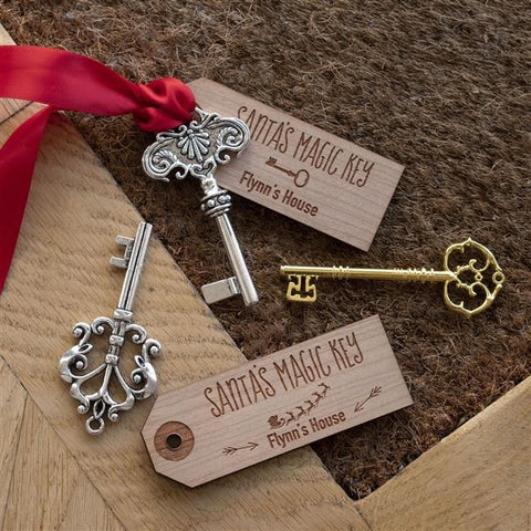 Personalised Santa's Magic Key-OurPersonalisedGifts.com