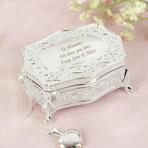 Personalised Small Antique Trinket Box-OurPersonalisedGifts.com