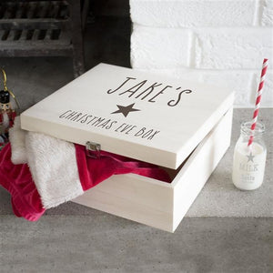 Personalised Star Christmas Eve Box-OurPersonalisedGifts.com