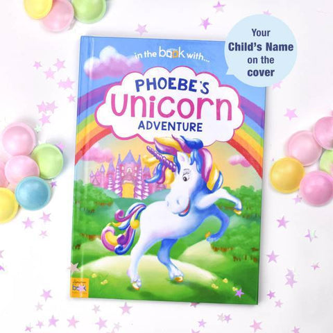 Personalised Unicorn Adventure Book-OurPersonalisedGifts.com