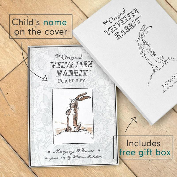 Personalised Velveteen Rabbit First Edition Book-OurPersonalisedGifts.com