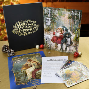 Personalised Vintage London News Christmas Calendar Gift Pack-OurPersonalisedGifts.com