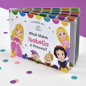 Personalised What Makes me a Princess Disney Board Book-OurPersonalisedGifts.com