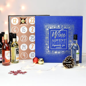 Personalised Wine Advent Calendar-OurPersonalisedGifts.com