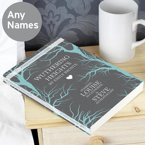 Personalised Wuthering Heights Novel-OurPersonalisedGifts.com