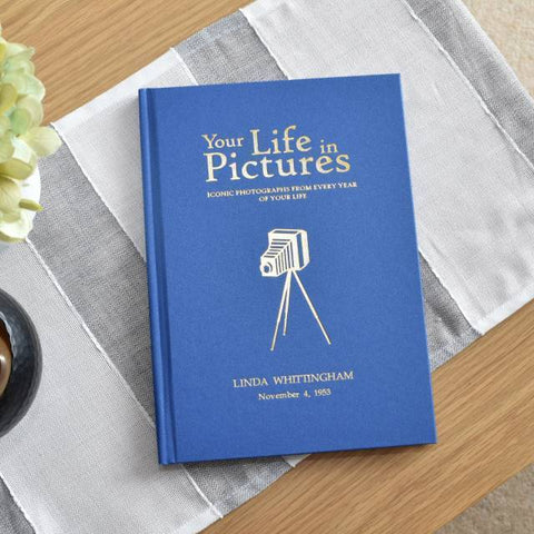 Personalised Your Life in Pictures Book-OurPersonalisedGifts.com