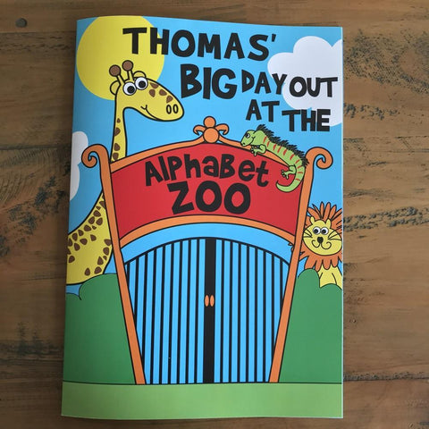Personalised Zoo Story Book-OurPersonalisedGifts.com