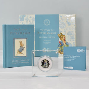 Peter Rabbit Royal Mint Silver Proof Coin & Book Set-OurPersonalisedGifts.com
