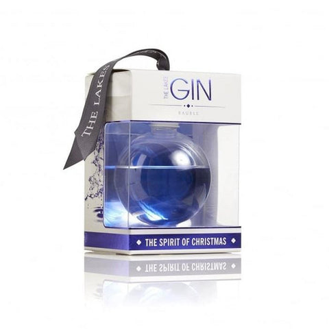 The Lakes Distillery Gin Bauble-OurPersonalisedGifts.com