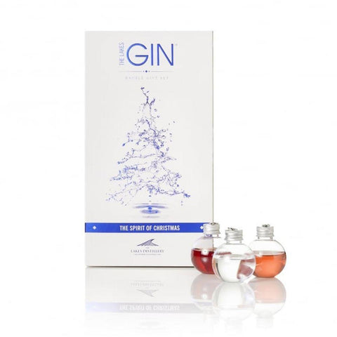 The Lakes Distillery Gin Baubles 6 Pack-OurPersonalisedGifts.com