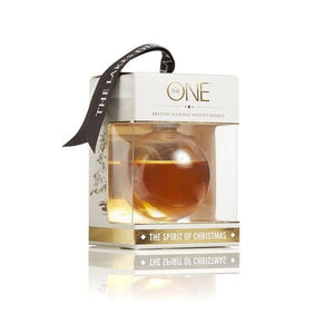 The Lakes Distillery 'The One' Whisky Bauble-OurPersonalisedGifts.com