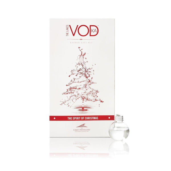The Lakes Distillery Vodka Baubles 6 Pack-OurPersonalisedGifts.com