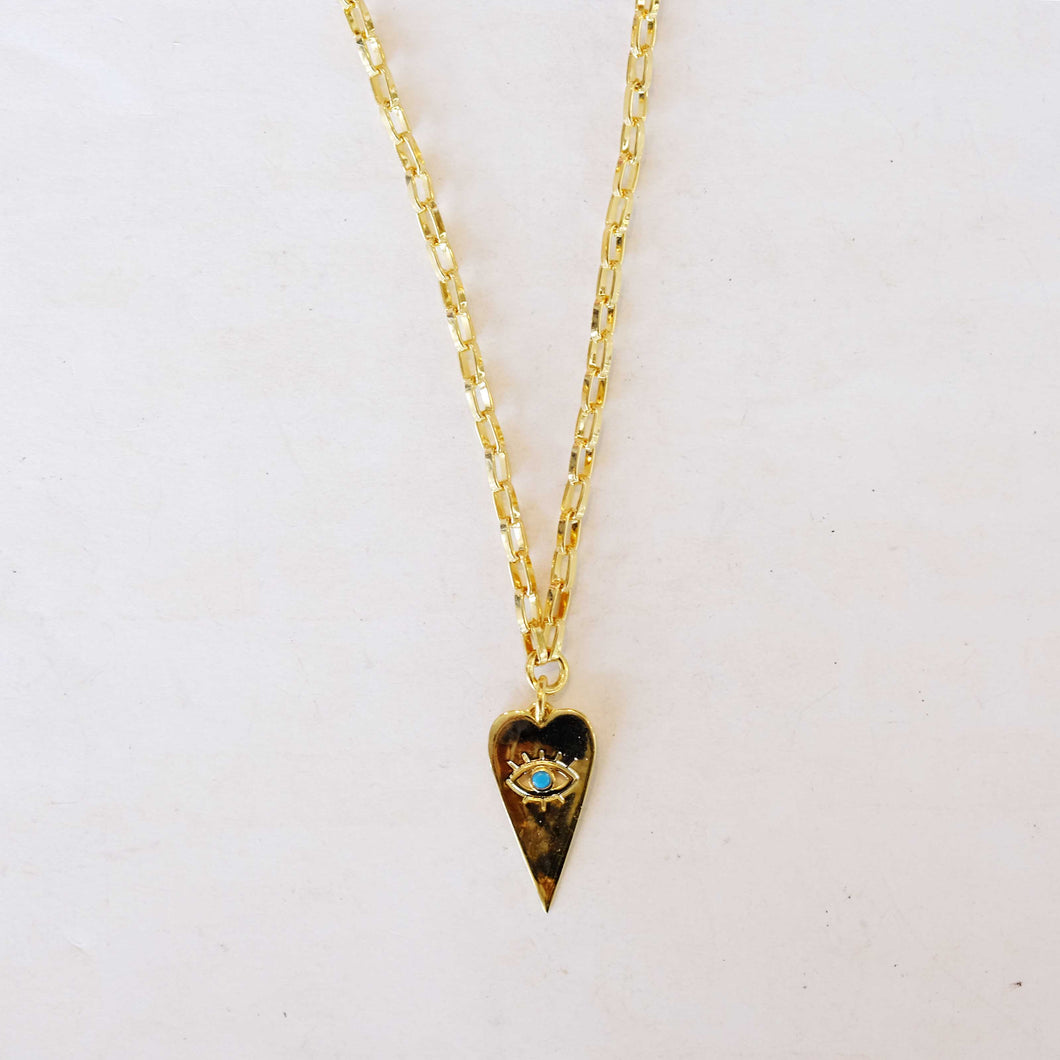 Third Eye Gold Necklace
