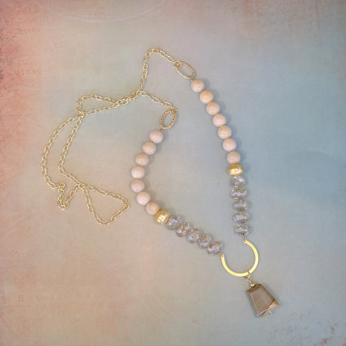 Beige and Beautiful Necklace
