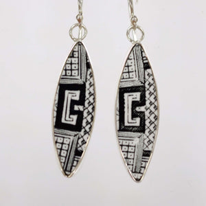 Black Willow Contemporary Earrings