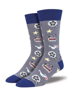 Movie Night Men's Socks