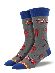 Firefighter Men's Socks