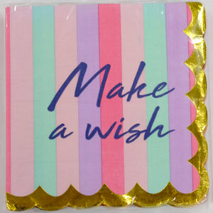 Make a Wish Beverage Napkins